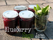 Blueberry Sage Jam, found on PunkDomestics.com