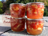 Peach Tomato Preserves found on PunkDomestics.com