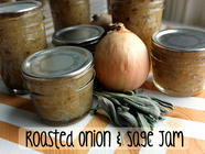 Roasted Onion & Sage Jam found on PunkDomestics.com