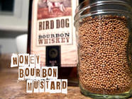 Honey Bourbon Mustard found on PunkDomestics.com