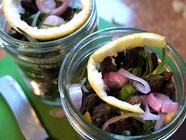 Lemon & Tarragon Pickled Asparagus found on PunkDomestics.com