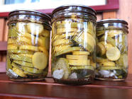 Pickled Squash with Cilantro found on PunkDomestics.com