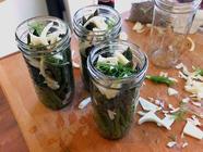 Fennel Pickled Asparagus  found on PunkDomestics.com