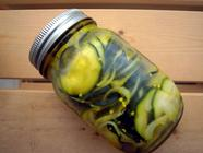 Courgette (Zucchini) Pickles found on PunkDomestics.com