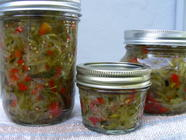 Spicy Zucchini Relish found on PunkDomestics.com