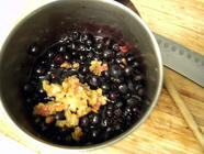 Blueberry Compote with Preserved Lemon