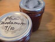 Plum Cardamom Jam found on PunkDomestics.com