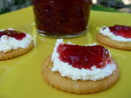 Strawberry, Lemon and Ginger Jam found on PunkDomestics.com
