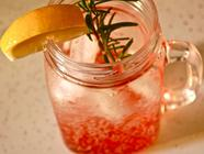 Strawberry Rosemary Syrup + Strawberry Rickey