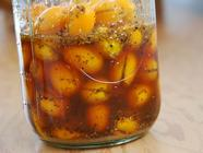 Sweet Preserved Kumquats