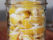 Winter Cure of Preserved Meyer Lemons
