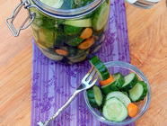 Half Sours and Bread and Butter Pickles found on PunkDomestics.com