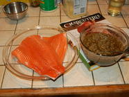 Cured Salmon - Charcutepalooza Challenge 2