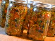Blue Grape and Black Tomato Fermented Salsa found on PunkDomestics.com