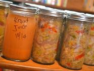 Savory Super-Probiotic Sauerkraut found on PunkDomestics.com