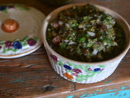 Fermented Green Chile Salsa found on PunkDomestics.com