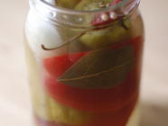 Pickled Peppers and Pig's Ears found on PunkDomestics.com