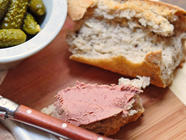 Homemade pâté