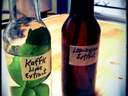 Kaffir Lime and Lemongrass Extracts