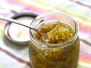 Zucchini-Pepper Sweet Relish found on PunkDomestics.com