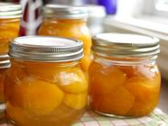 Canned Apricots in Honey Syrup