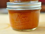 Small Batch Peach Barbecue Sauce found on PunkDomestics.com
