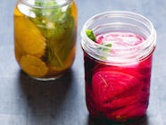 Fermented Beet Pickles with Basil & Cumin found on PunkDomestics.com
