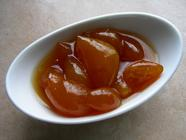 Kumquats Preserved in Honey and Rose Water