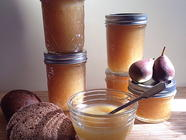 Small-Batch Ginger Pear Butter found on PunkDomestics.com