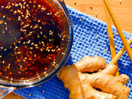 Ginger Teriyaki Sauce found on PunkDomestics.com