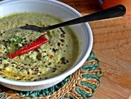 Green Tomato and Peanut Chutney found on PunkDomestics.com