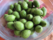 Pickled Green Walnut Chutney