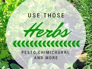 Use Those Herbs! found on PunkDomestics.com