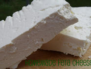 Homemade Feta Cheese found on PunkDomestics.com