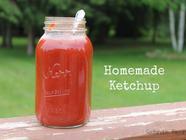 Homemade Ketchup found on PunkDomestics.com