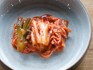 Homemade Vegetarian Won Bok Kimchi found on PunkDomestics.com