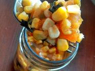 Yellow Tomato and Sweet Corn Salsa found on PunkDomestics.com