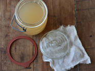 How to Make Apple Vinegar from Scratch found on PunkDomestics.com