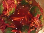 Crunchy Cucumber Kimchi or Kimchee
