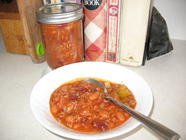 Homemade and Home-Canned Chili found on PunkDomestics.com