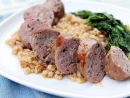 Mint Lamb Sausage Inspired by Jorgensen Farms