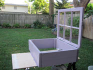 Build a Cold Frame from an Old Window