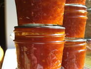 Curried Yellow Tomato Jam (or Ketchup) found on PunkDomestics.com
