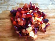 Summery Chutney with Plum, Tomato & Apple