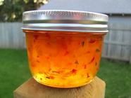 Apricot + Habanero Pepper Jelly found on PunkDomestics.com