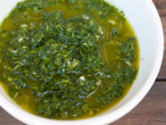 Homemade Chimichurri found on PunkDomestics.com