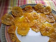 Chewy Dried Oranges - In the Clothes Dryer?