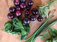 Muscadine Jam with Fines Herbes found on PunkDomestics.com