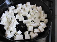 Paneer, Homemade Frying Cheese