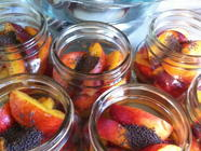 Spicy Pickled Nectarines